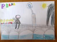 Naše škola na Karlově mostu.