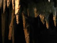 Netopýří jeskyně.