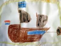 výstava očima prvňáků - loď