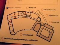 Mapa stálé expozice - pracovní list