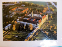 Klášterní Hradisko Olomouc - pozorovali jsme z okna