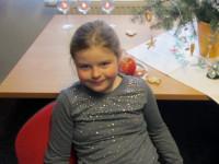 Vánočně vyzdobenou knihovnu navštívili děti 1. a 2. ročníku.