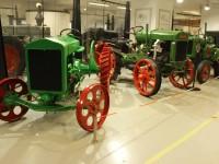 Expozice Jede traktor