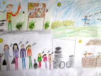 Školní soutěž - komiks o našem úklidu