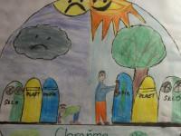 Dituška - plakát - ochrana Země