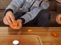 Marek - pokus s pomerančem