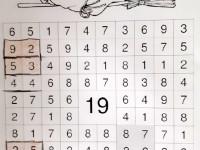 Paťa Uchytil - hledej čtverce se součtem 19
