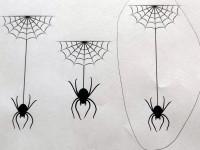 délka pavoučích vláken