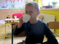 meduňkový čaj ze spirály za odměnu