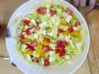 šopský salát - dobrou chuť :-)