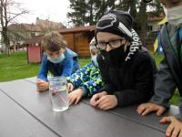 Pozorovali jsme přes kouzelnou vodu změny