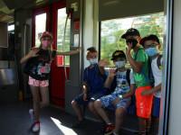 Z Nezdenic jsme vyjeli vlakem
